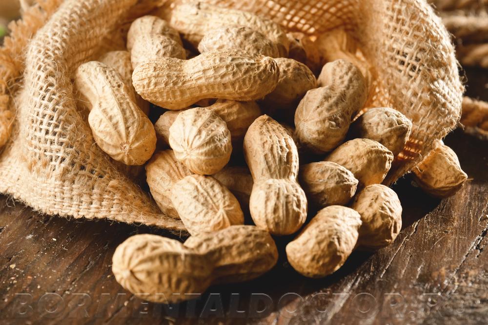 Соленые орехи