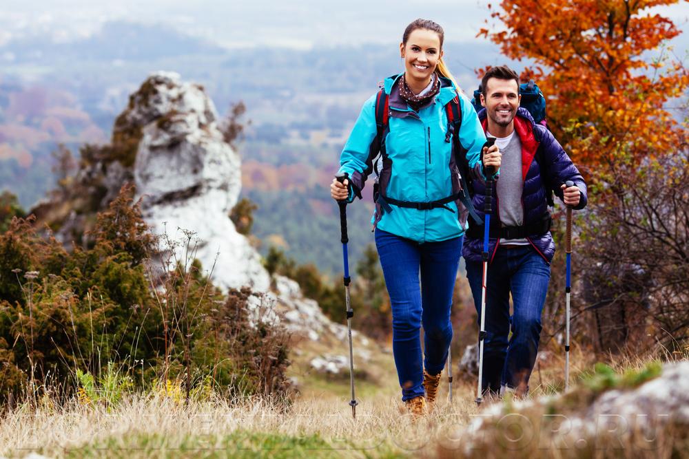 160123214 - Скандинавская ходьба для похудения