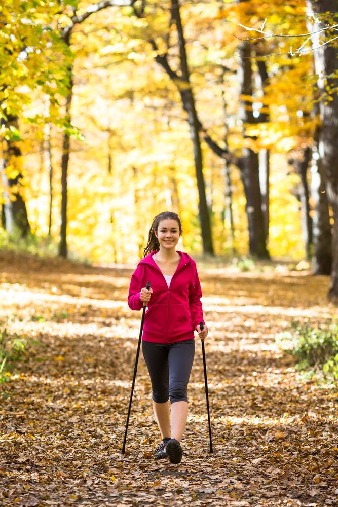 50603851 - Скандинавская ходьба для похудения