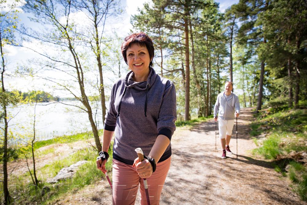 658280770 - Скандинавская ходьба для похудения