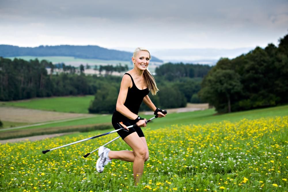 98792156 - Скандинавская ходьба для похудения