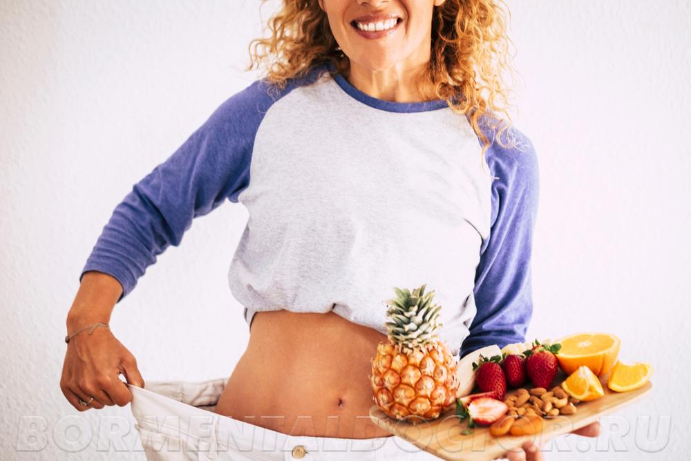сбросить вес после 40