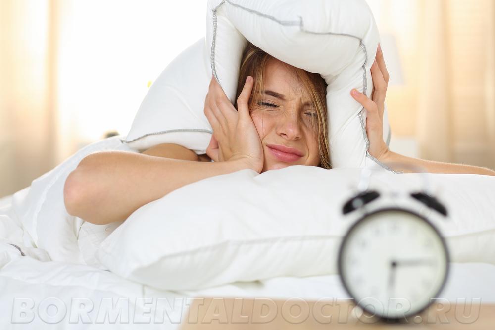 Недостаточное количество сна