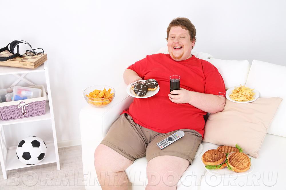 люди с ожирением живут меньше