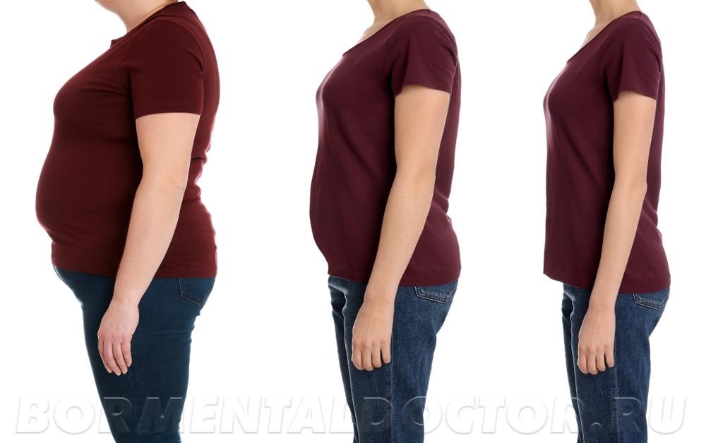 Перепады веса не наносят вред здоровью