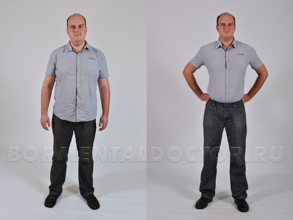 Воронцов похудение фото до и после