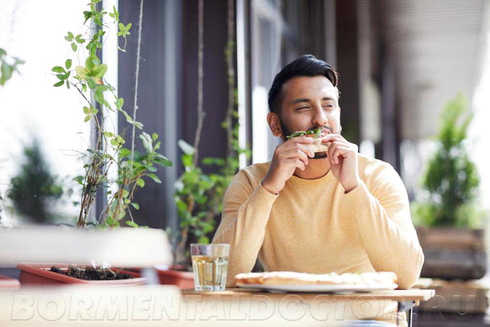 Практика вторая – никуда не спешим и наслаждаемся едой