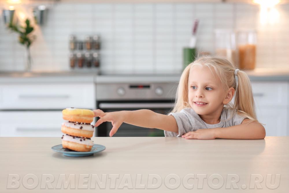 Любое ожирение начинается с неправильного питания