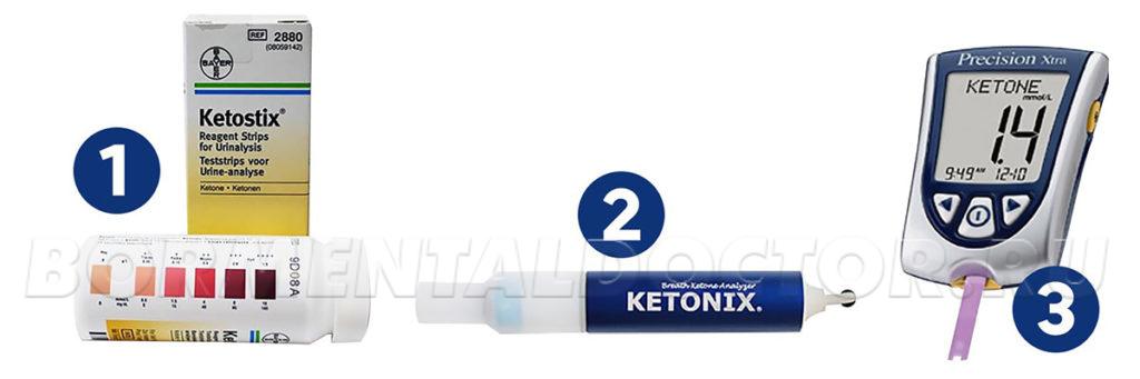 Инструменты для измерения кетоза