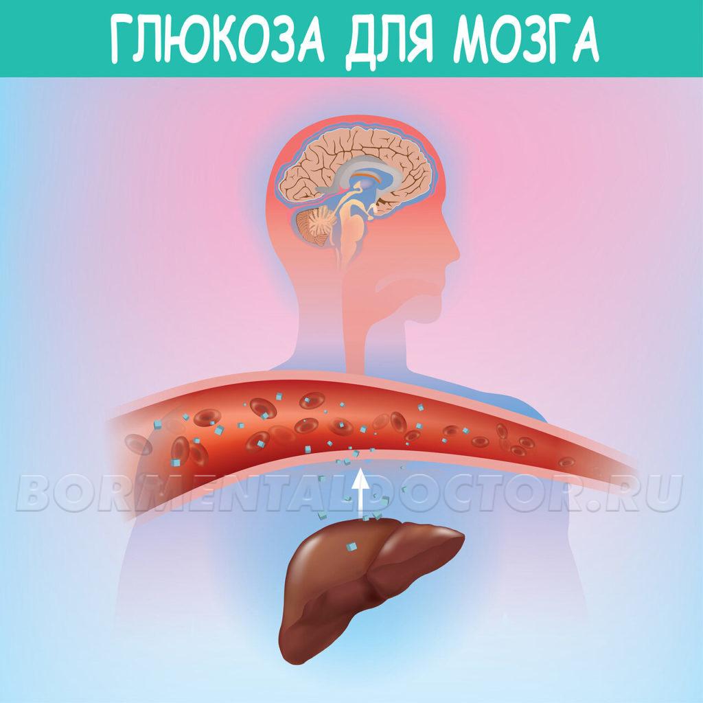 Глюкоза для мозга